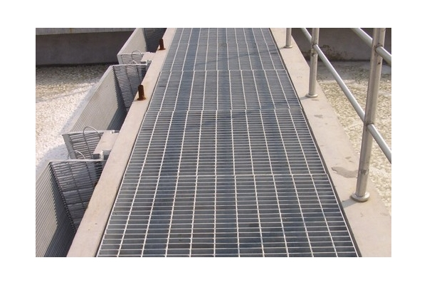 Electric galvanized bar grating