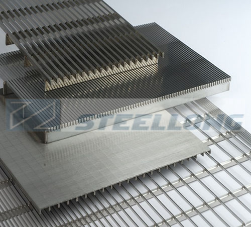 Metal Plate Wedge : Wedge wire screen plate
