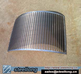Wedge wire sieve bend screen filter