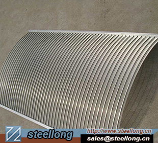 Stainless Steel Wedge wire parabolic filter for aquaculture