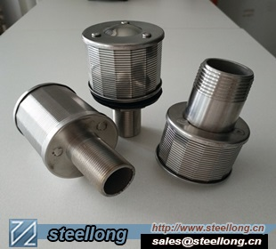 NPT Thread SS Filter Nozzles For Water Treatment
