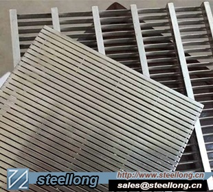 Stainless Steel Johnson Profile Wire Screen Panel for Water Treatment