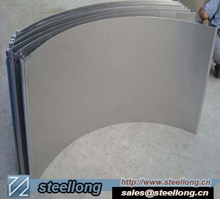 wedge wire Sieve bend screen for pulp and paper industrie