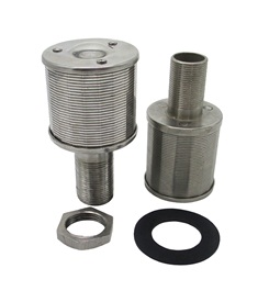 SS Wedge Wire Filter Nozzles For Sugar Industry Ion Exchange