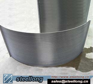 SS wedge wire Sieve Bend Screen for starch sieve