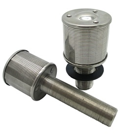 Typical SS Wedge Wire Filter nozzles For Sugar Industry