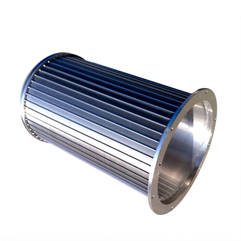 SS wedge wire Strainer Pipe For high fructose cone syrup  production