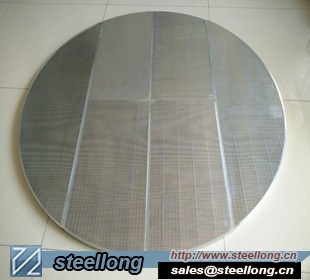 SS Wedge Wire Screen Panel For Lauter Tun Bottom