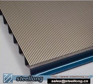 Wedge Wire Slot Screen For Mine Vibrating Screen