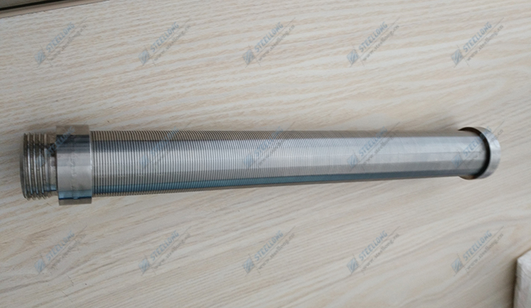 SS wedge wire slot tube candle filter